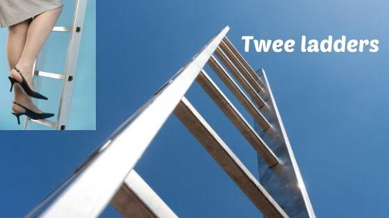 Twee ladders